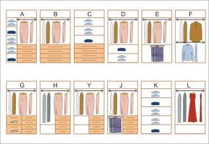 composición de armarios